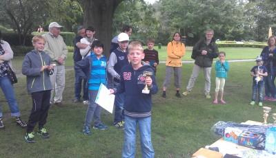 Sieger bei der Jugend: Leon Guttmann