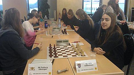 Gegen Freiburg Zähringen konnte in der dritten Runde der erste von drei Siegen eingefahren werden.